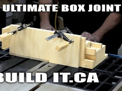 Setup And Use The Ultimate Box Joint Jig