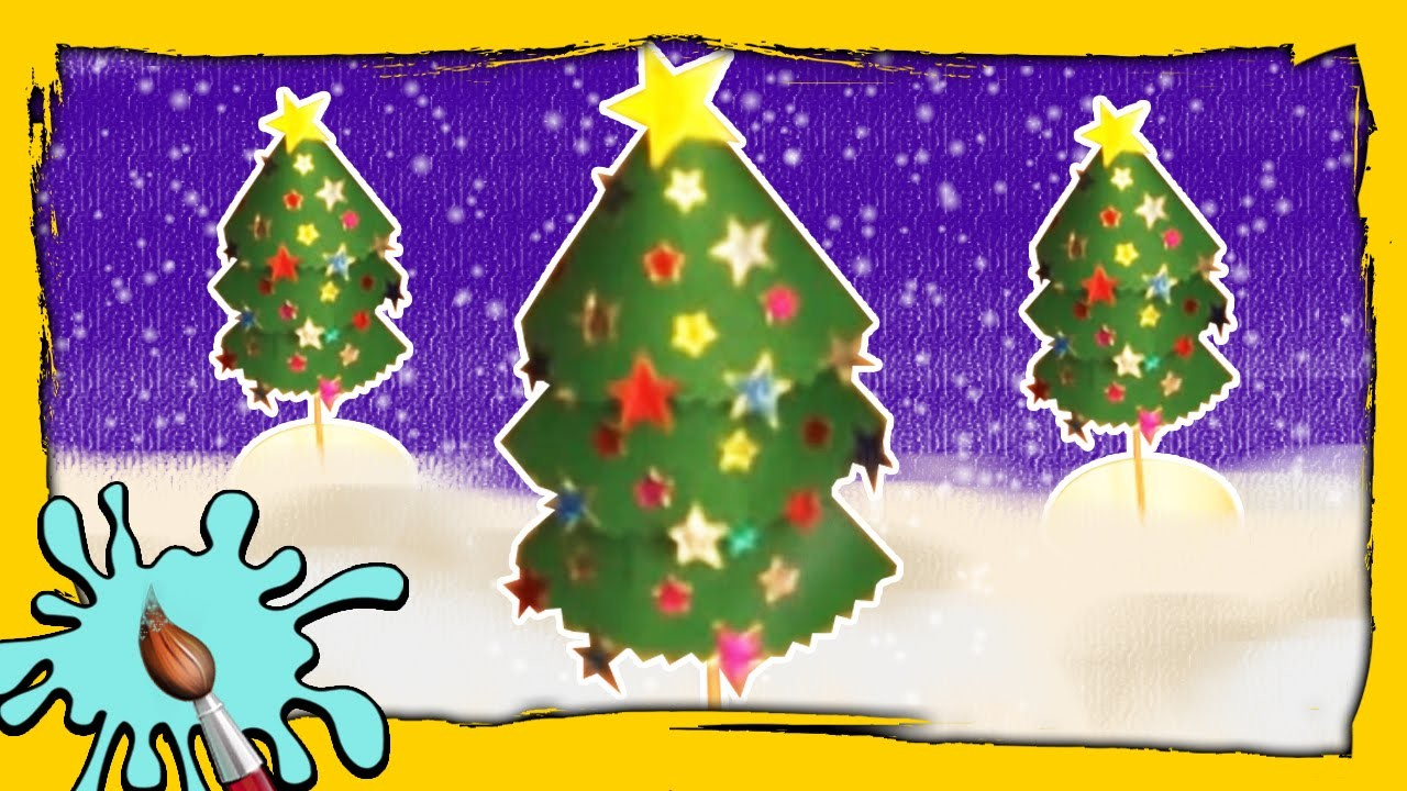 Table Top Christmas Tree | DIY Christmas Crafts | Easy Christmas Paper Crafts for Kids