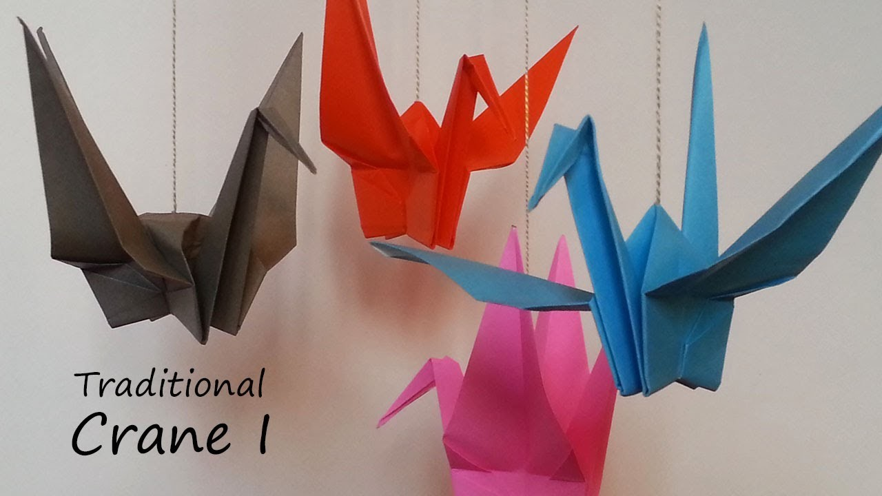 Traditional Origami Crane I: Tutorial