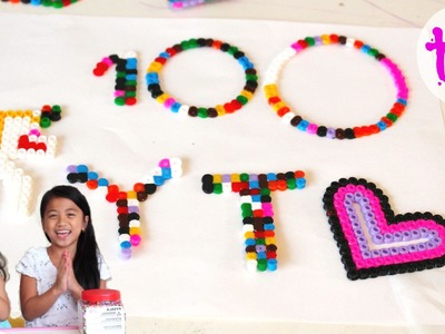 100th Video | Fun Activity with PYSSLA Beads from IKEA | Time Lapse