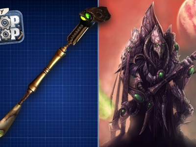 Build Your Own Warp Scythe (Starcraft II: Legacy of the Void) - DIY Prop Shop
