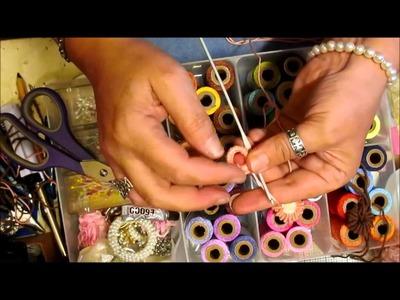 Bullion Stitch Button Tutorial - jennings644
