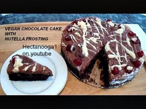 CHOCOLATE NUTELLA CAKE RECIPE, vegan or not, AND Happy Holidays message