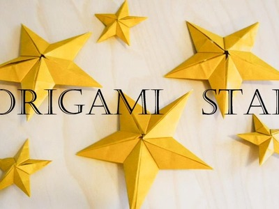 Christmas Decoration - Origami Star