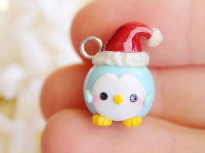 Christmas Penguin │ Polymer Clay Tutorial