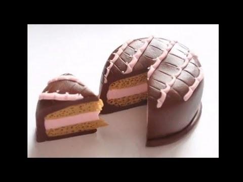 Clay Cake Tutorial (Chocolate)