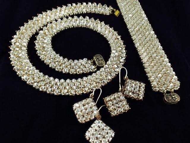 Crystal Bling Bling Bling Earrings :