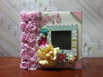 Cute, fast and easy to make Envelopes mini album