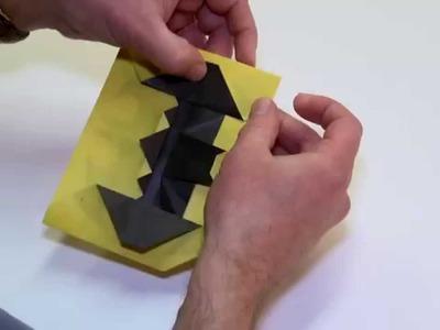 DC Super Heroes Origami Folding - Batman Symbol