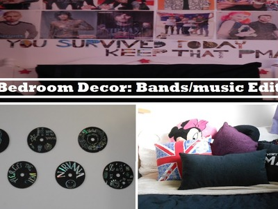 DIY Bedroom Decor: Bands.music Edition