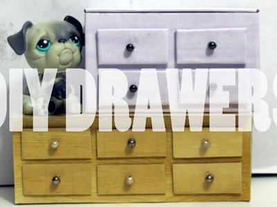 DIY Furniture: How To Make LPS Chest Of Drawers