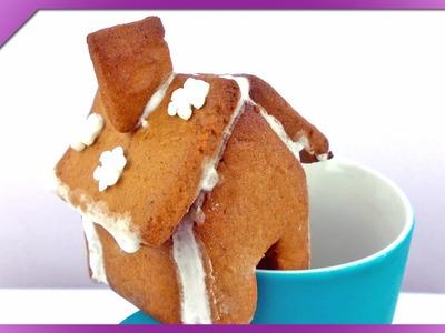 DIY Gingerbread house (ENG Subtitles) - Speed up #160