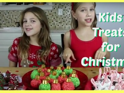 DIY Kids Treats for Christmas | Kid Size Cooking | Jazzy Girl Stuff