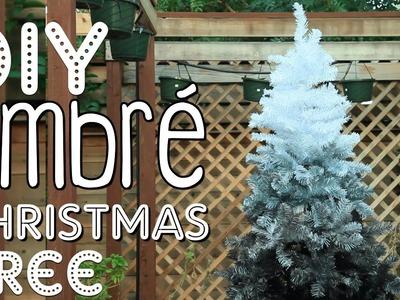 DIY Ombré Christmas Tree | Christmas Room Decor DIY!