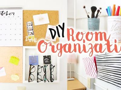 ✿ DIY Room Organization.Decor!