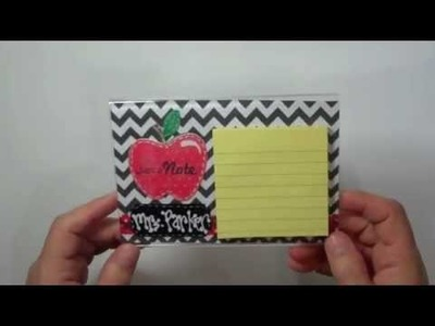 Episode 189 - Post It Note Acrylic Frame Teacher's Gift