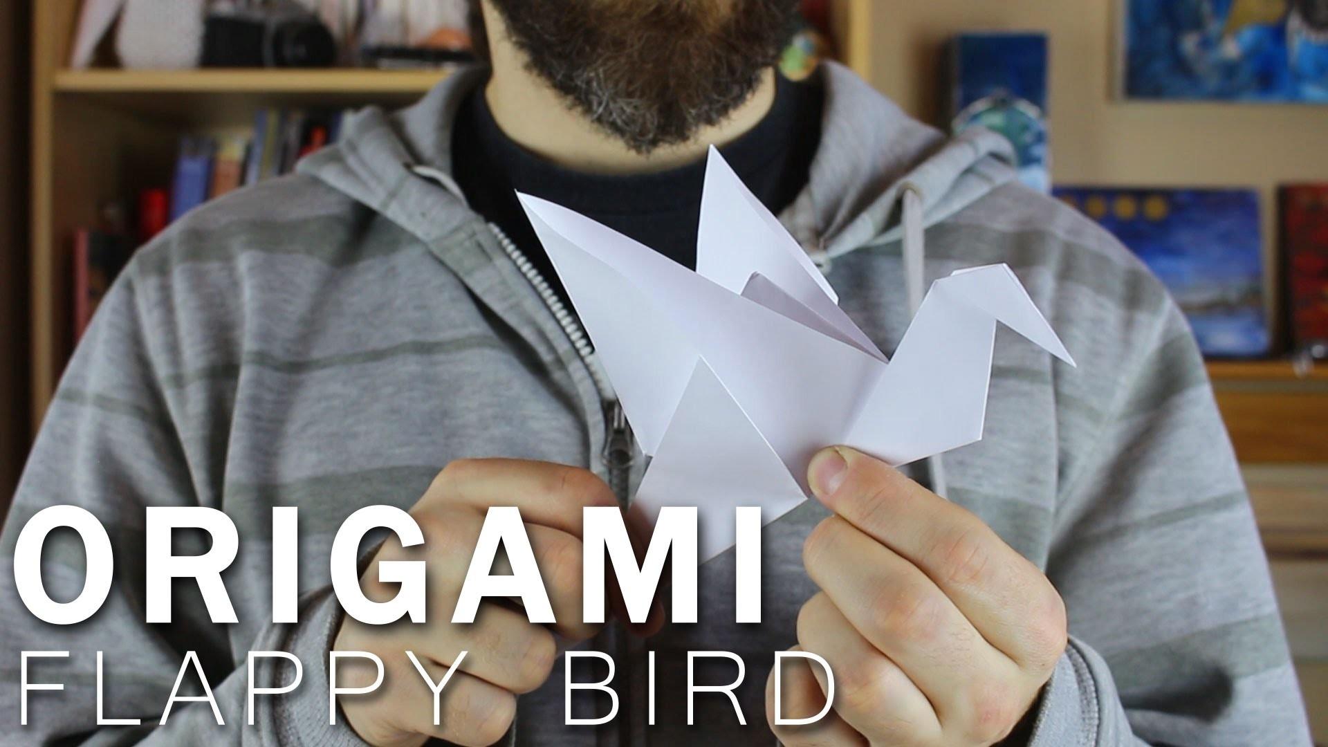 Flappy bird - ORIGAMI
