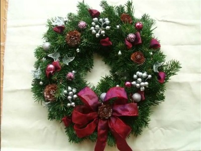 Holiday Wreaths - Artificial Christmas Wreath Romance