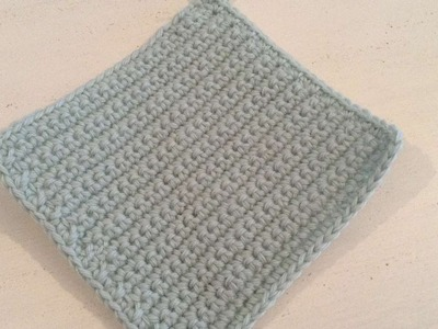 How To Crochet A Potholder For Your Kitchen - DIY Crafts Tutorial - Guidecentral