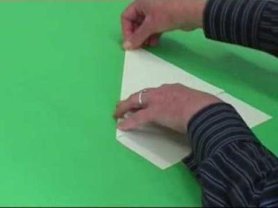 How To Fold An  Isosceles Triangle