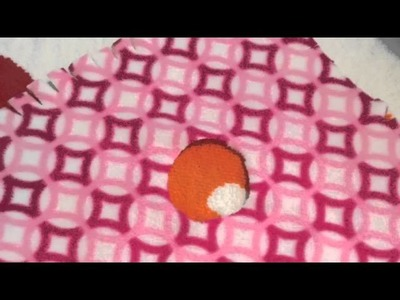 How to make a 18 inch doll poncho!