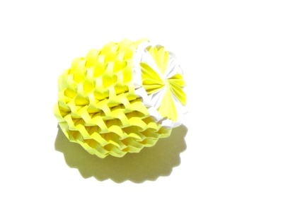 How To Make a 3D Origami Lemon
