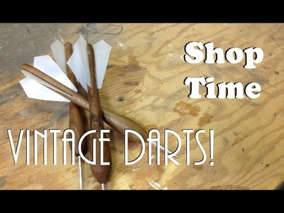 How To Make Cool Vintage Darts!