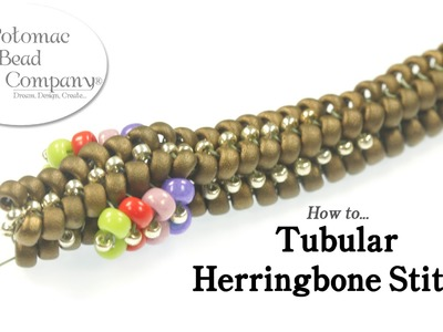 How to - Tubular Herringbone Stitch