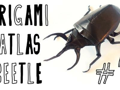 Origami Atlas Beetle (Riccardo Foschi) - Part 1: Base