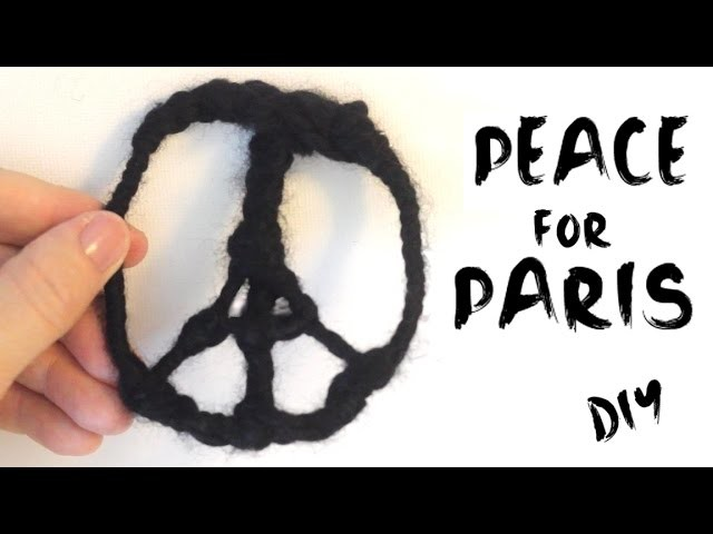 Peace for Paris DIY: Craft Ornament