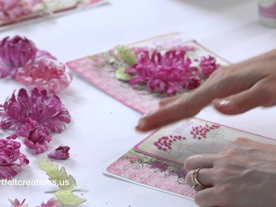 Simple steps to creating a Dimensional Card with the Enchanted Mums