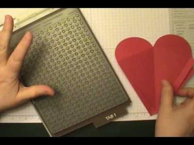 Stampin' Up! Petal Cone Die - Be My Valentine