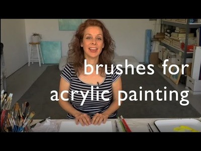 Brushes for Acrylic Painting