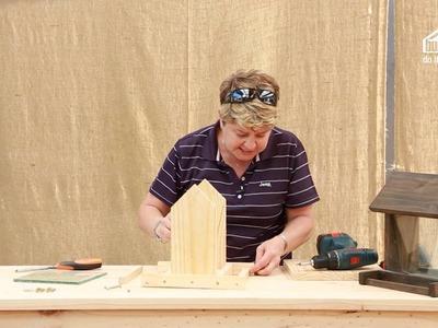Builders DIY: Episode 6 - Seed Diner Bird Feeder