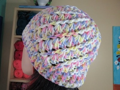 Crochet easy hat for adults