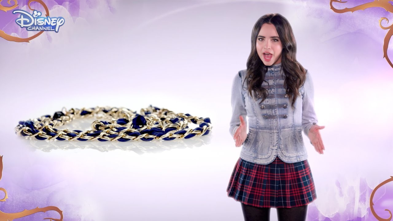 Disney Descendants - Accessorised Chain Belt Tutorial - Official Disney Channel UK HD