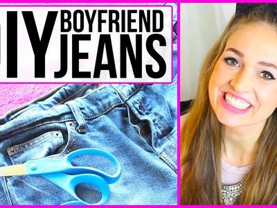 DIY Boyfriend Jeans with CourtneyRandallMusic