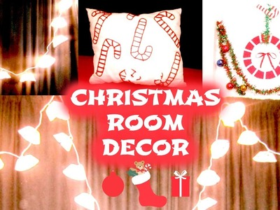 DIY : CHRISTMAS room decor   easy, cute and cheap   in india.