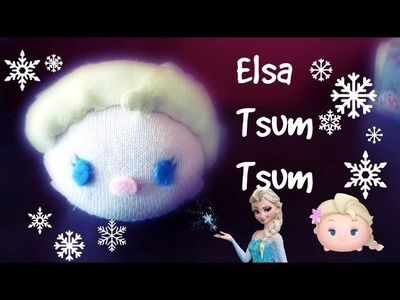 DIY Elsa Tsum Tsum (from Frozen) | Tiny Sparkles
