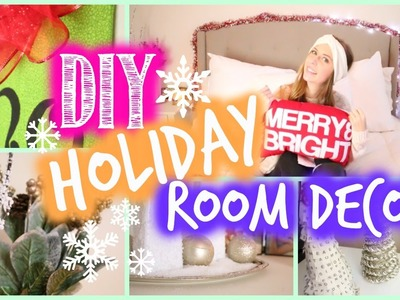 DIY Holiday Room Decor! Easy & Affordable | Courtney Lundquist