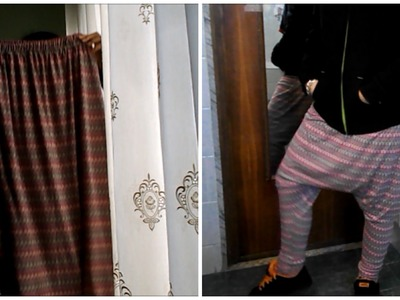 DIY TUTORIAL - Turn your skirt in a harem pants! Trasforma la tua gonna in un pantalone harem!