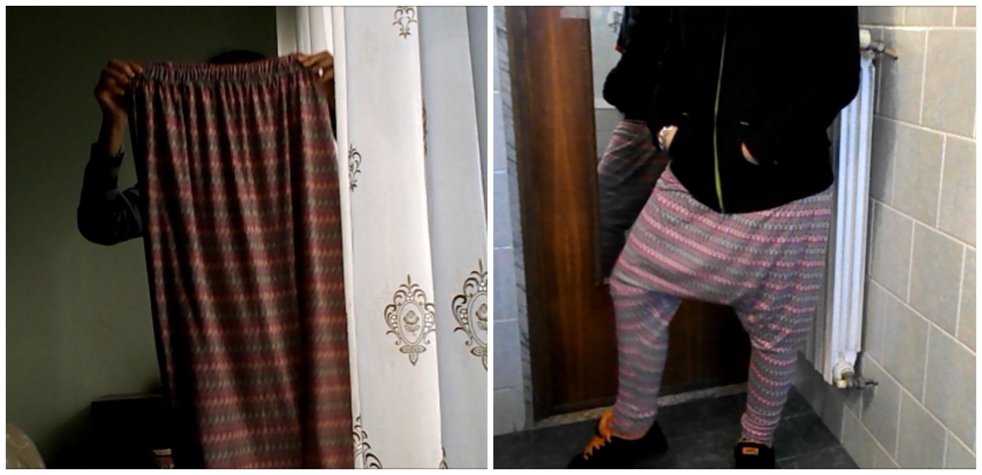 DIY TUTORIAL - Turn your skirt in a harem pants! Trasforma la tua gonna in un pantalone harem!