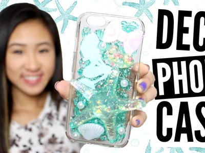 DIY Under the Sea Themed Decoden Phone Case Tutorial | TutorialsByA