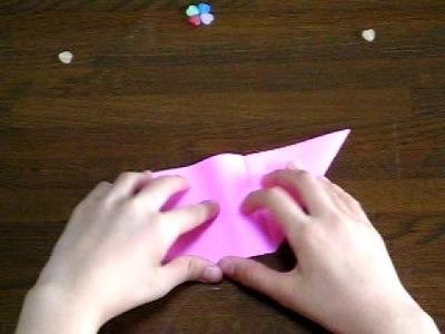 Durazno en origami