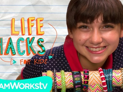 Easy Jewelry Storage Hacks   LIFE HACKS FOR KIDS
