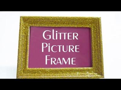 Glitter Picture Frame - DIY DECOR