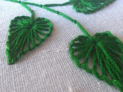 Hand Embroidery    Button Hole Stitch    HandiWorks #27