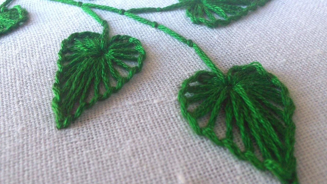 Hand Embroidery |  Button Hole Stitch |  HandiWorks #27