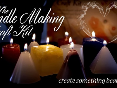 How to create quirky candles with this craft kit!