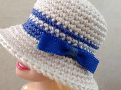 How To Crochet A Doll's Sailor Hat - DIY Crafts Tutorial - Guidecentral